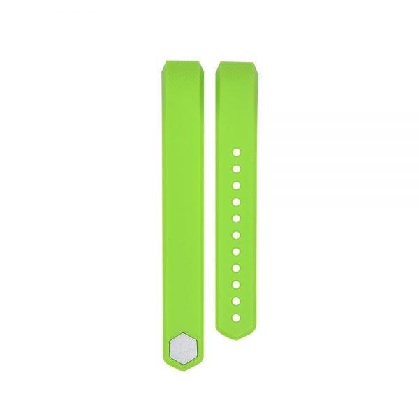Luxe Siliconen Bandje large voor FitBit Alta – groen_002