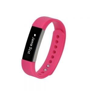 Luxe Siliconen Bandje large voor FitBit Alta – roze_004