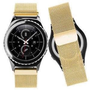 Samsung Gear S2 bandje milanese loop goud_006