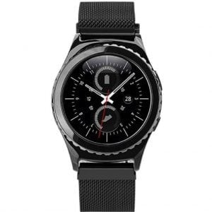 Samsung Gear S2 bandje milanese loop zwart_002