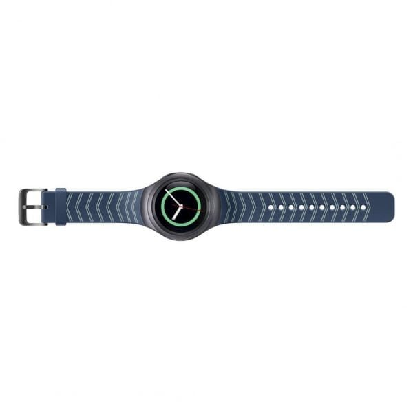 Samsung Gear S2 bandje silicone blauw met patroon_007
