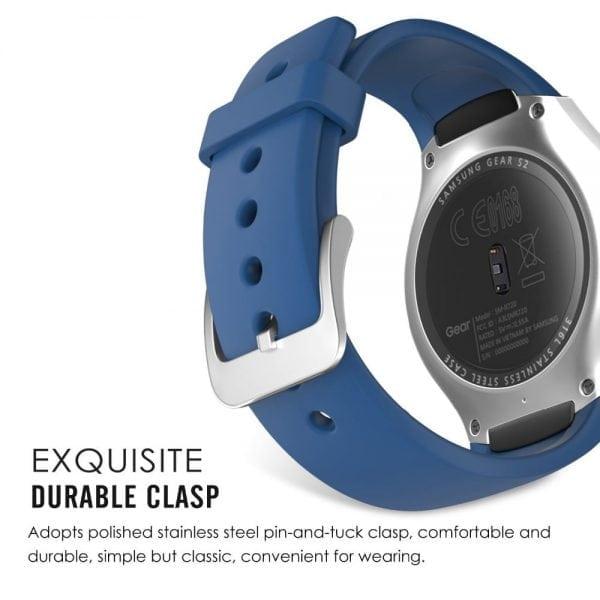 Samsung Gear S2 bandje silicone blauw_007