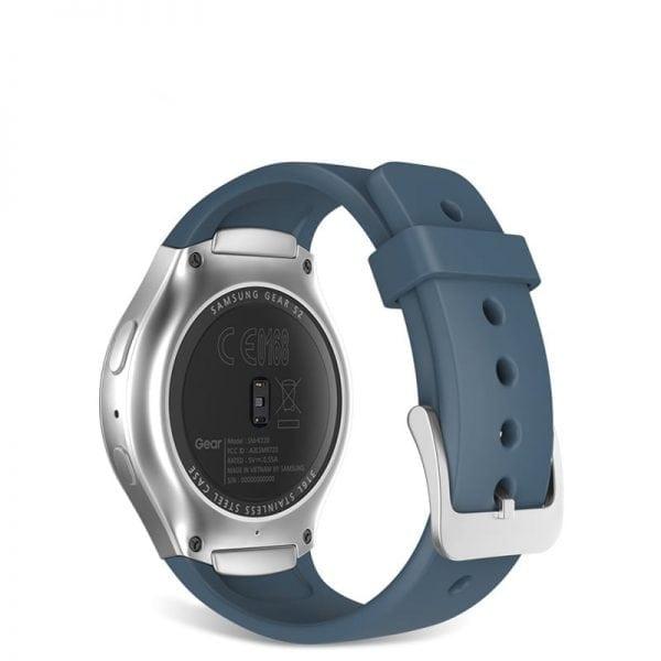 Samsung Gear S2 bandje silicone blauw_010