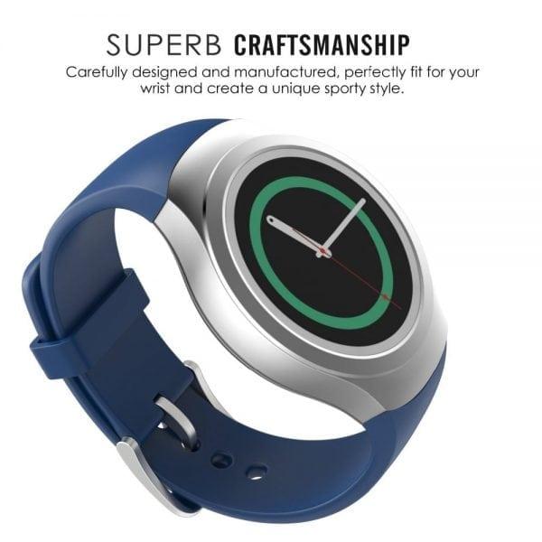 Samsung Gear S2 bandje silicone blauw_011