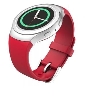 Samsung Gear S2 bandje silicone rood_007