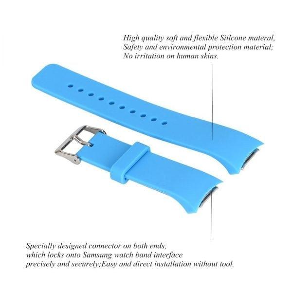 Samsung Gear S2 bandje silicone sky blauw_003