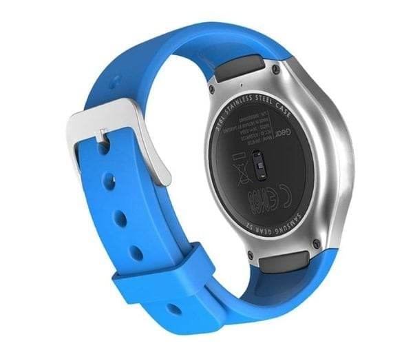 Samsung Gear S2 bandje silicone sky blauw_004