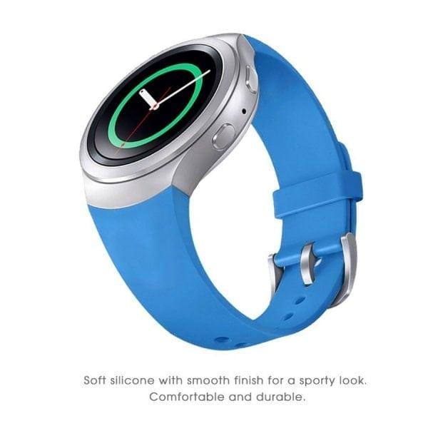 Samsung Gear S2 bandje silicone sky blauw_008