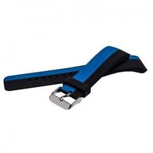Samsung Gear S2 bandje silicone zwart blauw_007