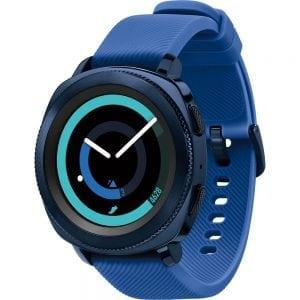 Samsung Gear Sport bandje silicone blauw large_001