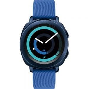 Samsung Gear Sport bandje silicone blauw large_003
