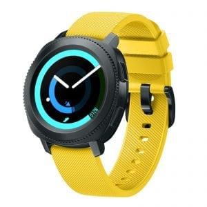 Samsung Gear Sport bandje silicone geel large_001