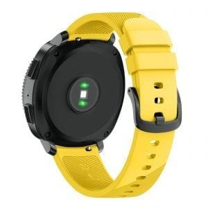 Samsung Gear Sport bandje silicone geel large_002