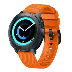 Samsung Gear Sport bandje silicone oranje large_001