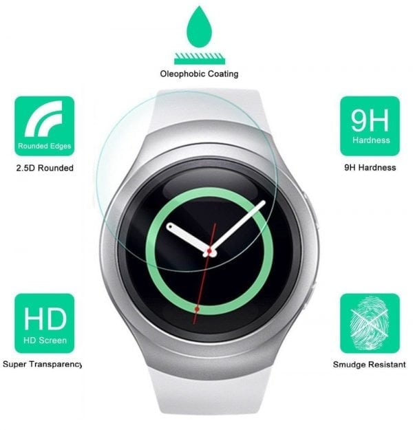Samsung Gear S2 screen protector 9H