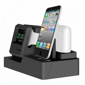 3-in-1 oplaadstation (wit) Dock-houder Houder Station Voor AirPods Apple Watch Serie 3-2-1- iPhone X-8-Plus-7-7-6-Plus_004