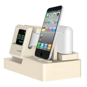 3-in-1 oplaadstation (wit) Dock-houder Houder Station Voor AirPods Apple Watch Serie 3-2-1- iPhone X-8-Plus-7-7-6-Plus_003