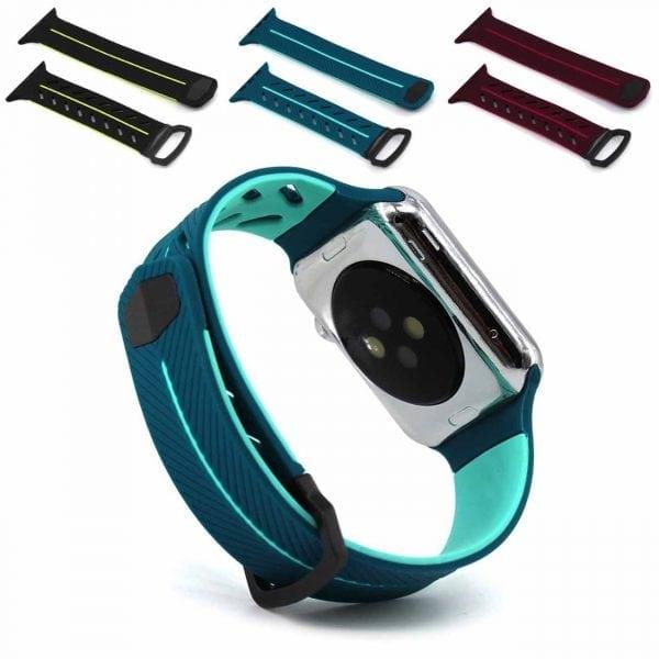 Apple Watch bandje 38mm groen siliconen