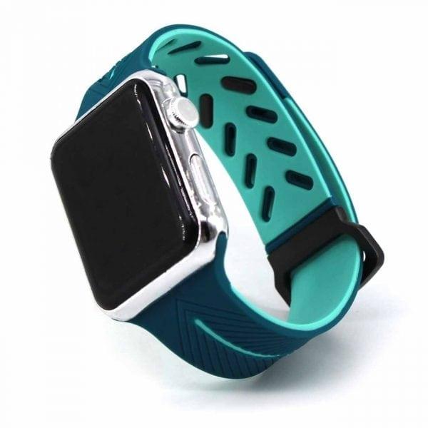 Apple Watch bandje 38mm paars siliconen_010