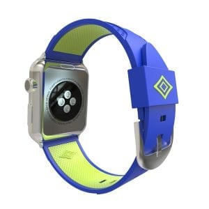 Apple watch bandje 38mm duo blauw - groen_003