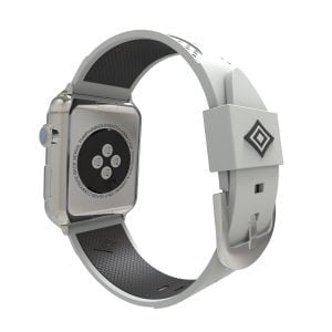 Apple watch bandje 38mm duo grijs - zwart_003