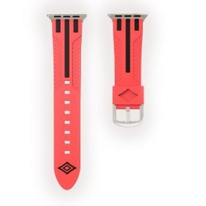 Apple watch bandje 38mm duo rood - zwart_002