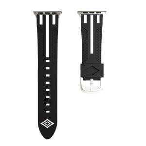 Apple watch bandje 38mm duo zwart - wit_002
