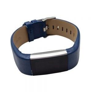 Fitbit Charge 2 bandje leer blauw_011