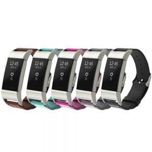Fitbit Charge 2 bandje leer bruin_004