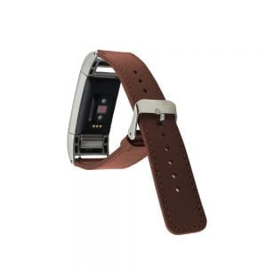 Fitbit Charge 2 bandje leer bruin_008