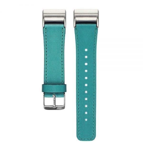 Fitbit Charge 2 bandje leer groen_001