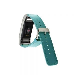 Fitbit Charge 2 bandje leer groen_003