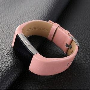 Fitbit Charge 2 bandje leer roze_004