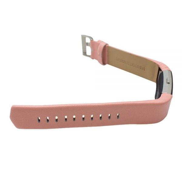Fitbit Charge 2 bandje leer roze_005