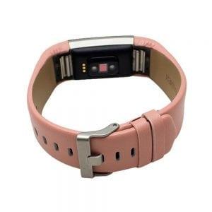 Fitbit Charge 2 bandje leer roze_007