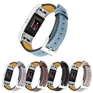 Fitbit Charge 2 bandjes leer blauw_009