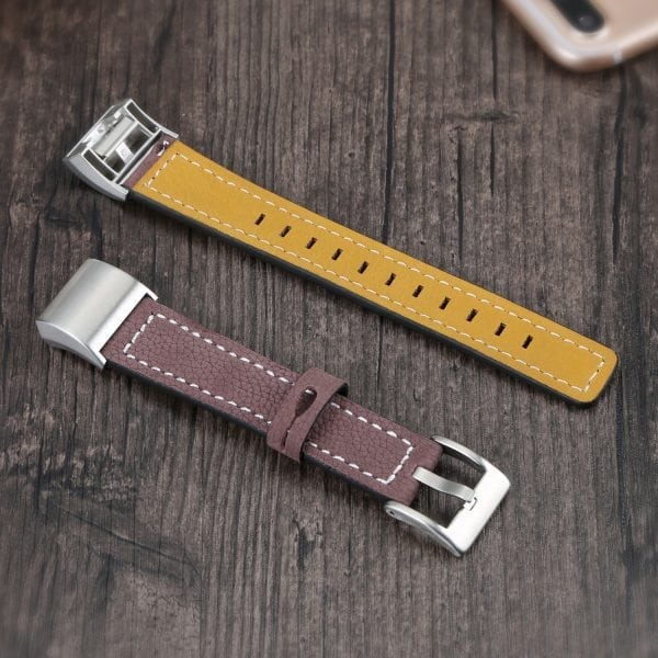 Fitbit Charge 2 bandjes leer bruin_004