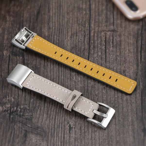 Fitbit Charge 2 bandjes leer kaki_004