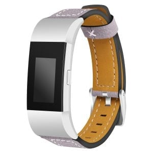 Fitbit Charge 2 bandjes leer paars_002