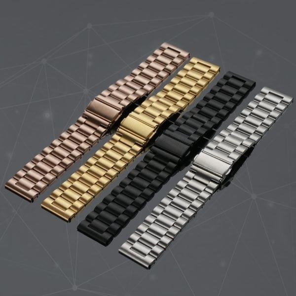Fitbit Versa bandje RVS zilver kleurig_001