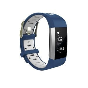 Fitbit charge 2 Sport bandje blauw - wit_003