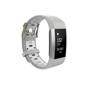 Fitbit charge 2 Sport bandje grijs - wit_003