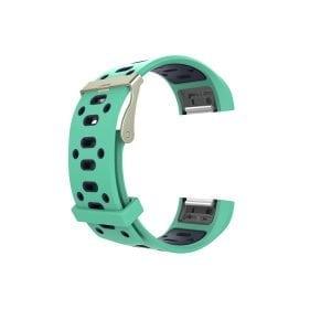 Fitbit charge 2 Sport bandje groen - paars_002