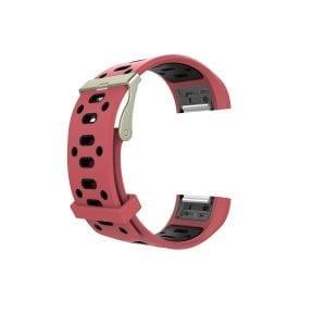 Fitbit charge 2 Sport bandje rood - zwart_003