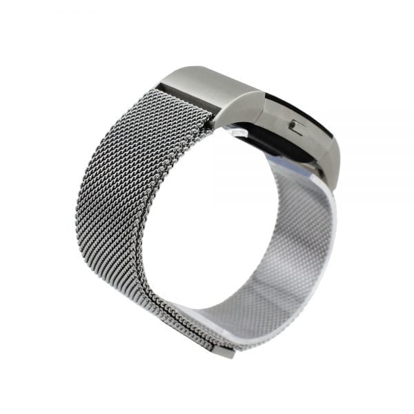 Z:\Watchbands-shop.nl\Nieuwe producten\charge 2 milanese magnetic band\zilver