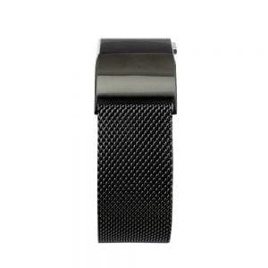 RVS zwart kleurig metalen bandje - armband voor de Fitbit Charge 2_003