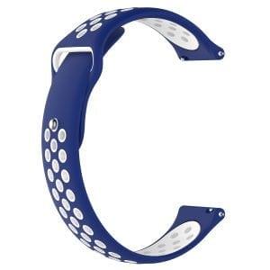 Samsung Gear Sport bandje blauw - wit_002