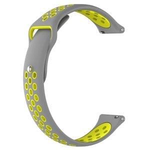 Samsung Gear Sport bandje grijs - geel_001