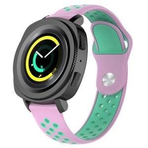 Samsung Gear Sport bandje roze - groen_003