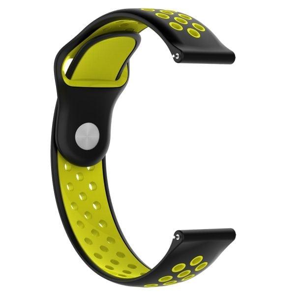 Samsung Gear Sport bandje zwart - geel_001